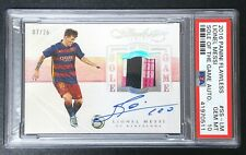 2016 Panini Flawless Sole of the Game Lionel Messi AUTO SHOE PATCH 08/25 PSA 10