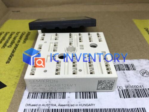 1PCS Semikron SKiiP 24NAB126V1 Módulo Fuente De Alimentación Nuevo 100/% garantía de calidad