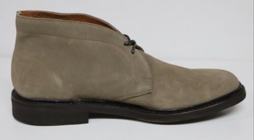 FRYE SETH MEN/'S $228 CHUKKA ANKLE BOOTS GREY SUEDE LEATHER LACE UP BRAND NEW