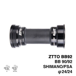 BB92 MTB Road Bike Press Fit Bottom Brackets for Shimano Prowheel 24mm Crankset