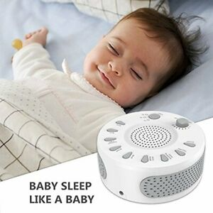 White Noise Generator Sound Machine Spa Easy Sleep Baby ...