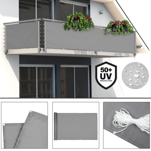 Sichtschutz Balkon Terrasse Windschutz Markise Zaun Balkonsichtschutz Schutzzaun