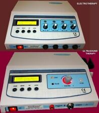 Model Combo Electric Stim Electrotherapy Amp Ultrasound Therapy Lcd Machine Unit