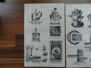 Antique-prints-19th-century-Victorian-era-prints-of-old-machinery-Engineering