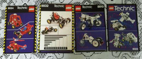 LEGO Bausteine & Bauzubehör Legos # 8024/8832/8810/8022 Technic Universal Anleitung Handbücher Nur LEGO Bau- & Konstruktionsspielzeug