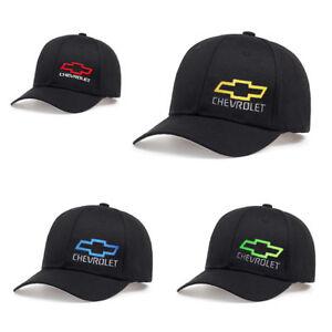 8ef04d501e5 Image is loading Chevrolet-Logo-Cap-Adjustable-Unisex-Baseball-Hat-Summer-