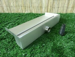 500mm Stainless Steel Waterfall Water Blade Cascade 130mm