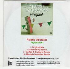 (EH732) Plastic Operator, Peppermint - DJ CD