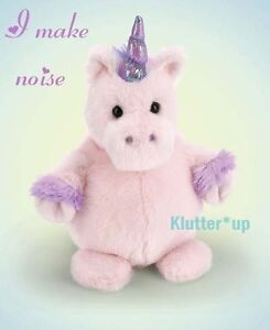 "Bearington Bear Plush Doll STOUT SPROUTS-TWINKL<wbr/>E Unicorn #310260 6"" High NWT...."