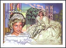 Mongolia 1997 Diana, Princess of Wales/Royal/Royalty/Wedding/People 1v m/s b1616