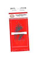 Colonial Embroidery Needles Size 3/9