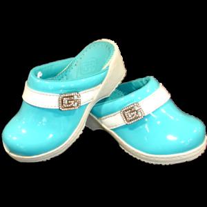 Sabot GEFFEN Bleu enfant fille chaussure