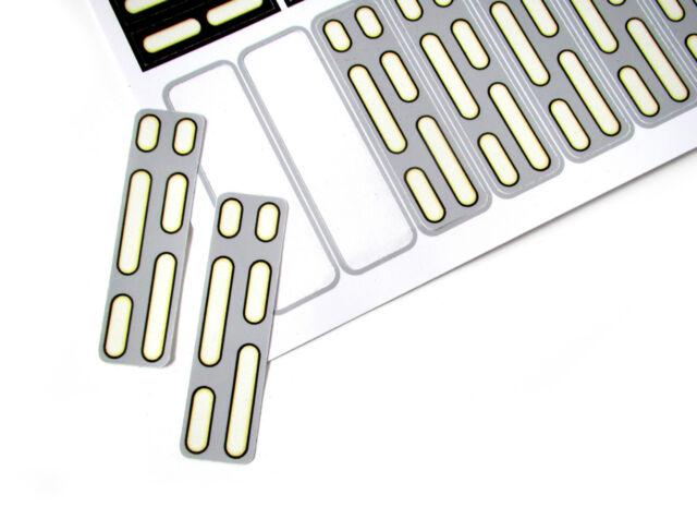 toys CUSTOM STICKERS for LEGO 10188 75159 Death star die-cut! models etc