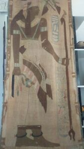 Old Egyptian Tapestry Ancienne Tapisserie Egyptienne Ebay