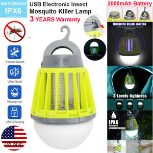 Uv Usb Charge Lamp Electric Fly Insect