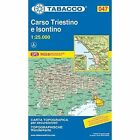 Carso Triestino 047 GPS Isontino: TAB.047: 2010 by Tabacco (Sheet map, folded, 2005)