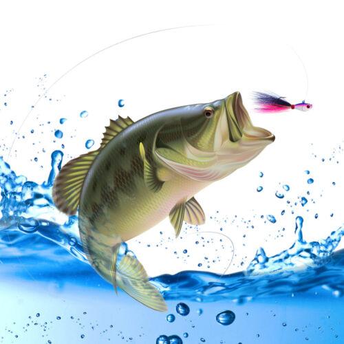 4pcs Kmucutie 3D Eyes Bucktail Jigs Saltwater Fishing Lures 7g//14g//28g//42g//56g