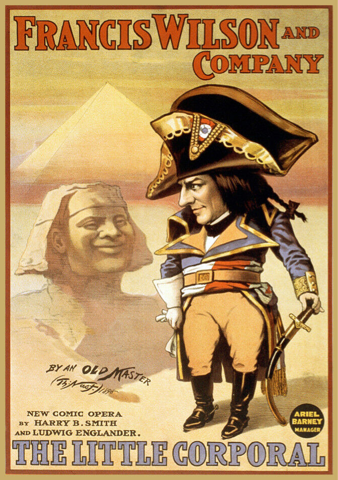 Decoration POSTER print.Napoleaon in Egypt.Sphynx.Room home interior Decor.6681