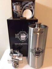 Keg Smiths 128 Oz Portable Draft Keg System Co2 Regulated Stainless Steel Keg