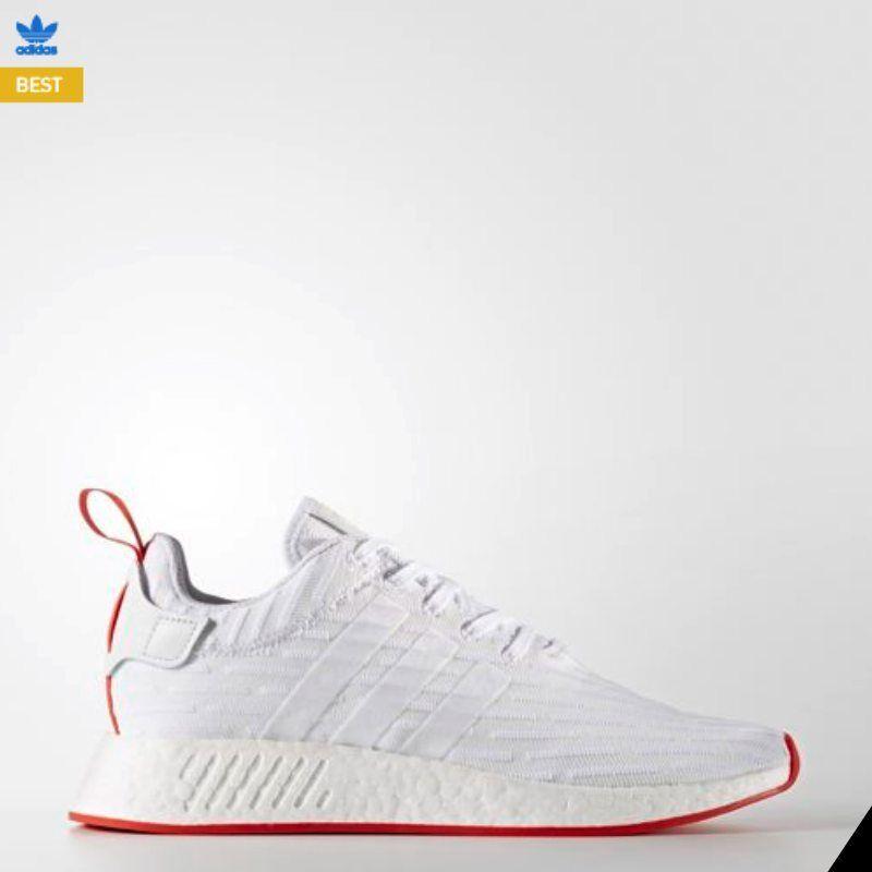 2017 New Adidas NMD R2 R2 R2 Runner PK Core bianca bianca nero BA7253 Dimensione 6-10 ad78b4