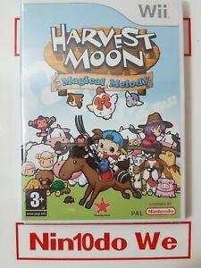 Harvest Moon: mágica melodía (Nintendo Wii) - Reino Unido PAL-profesionalmente restaurado