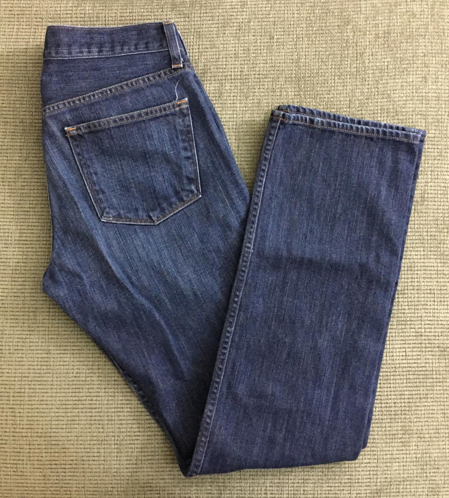 J1 J Brand Denim Jeans Kane Boot Cut Distressed Size 32x31 Women's