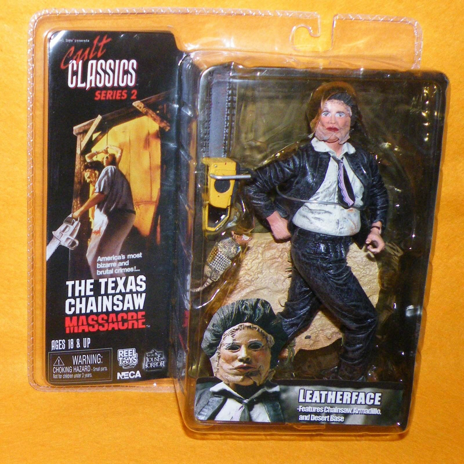 REEL TOYS Cult Classics Series 2 The Texas Chainsaw Massacre Leatherface MOC