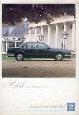 Buick LeSabre Limited Prospekt D 1986 brochure Auto PKWs Autoprospekt Amerika