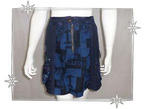 21f7d98a3082c A - Jupe Boule Fantaisie Bleu 11F2767 ERICA Desigual T M   eBay