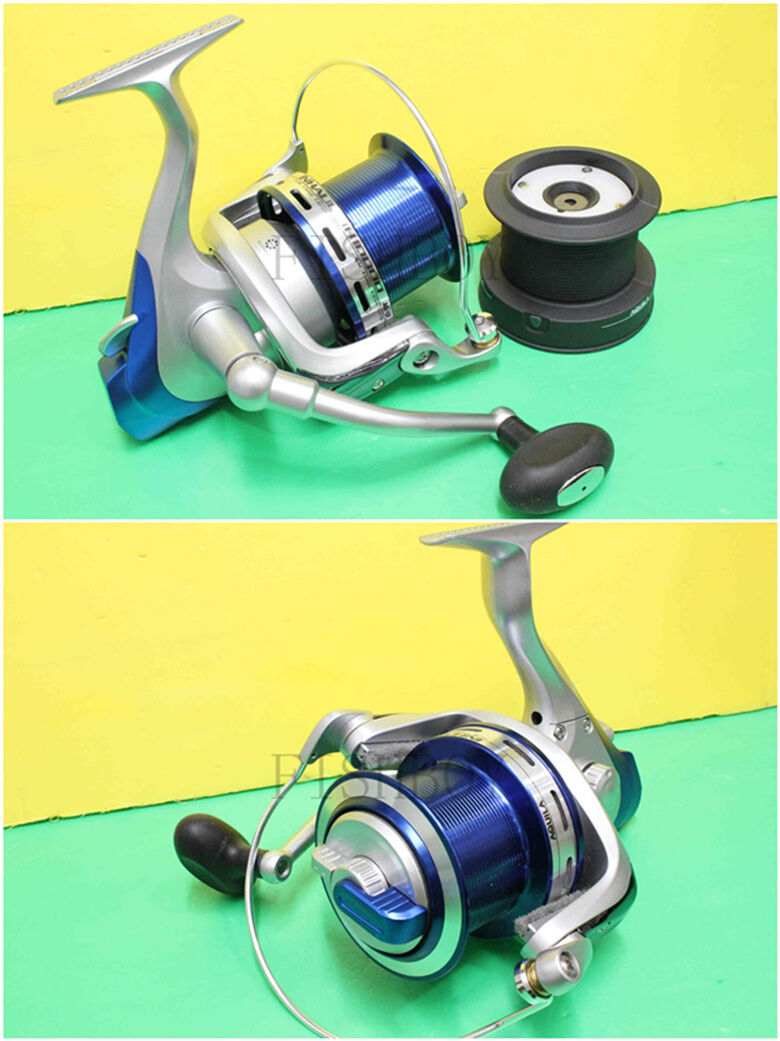 IH10000 Spinning Fishing Big Reel Aluminium Spool 11 Bearings Front Drag Surfing