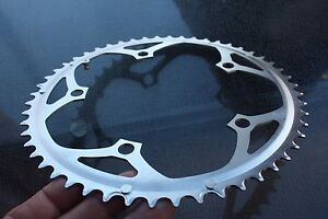 Campagnolo-135-BCD-Bolt-Circle-Diameter-Steel-Road-Bike-Chainring-New-52-Tooth
