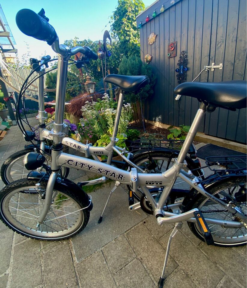 Foldecykel city star Cykler, cykeldele