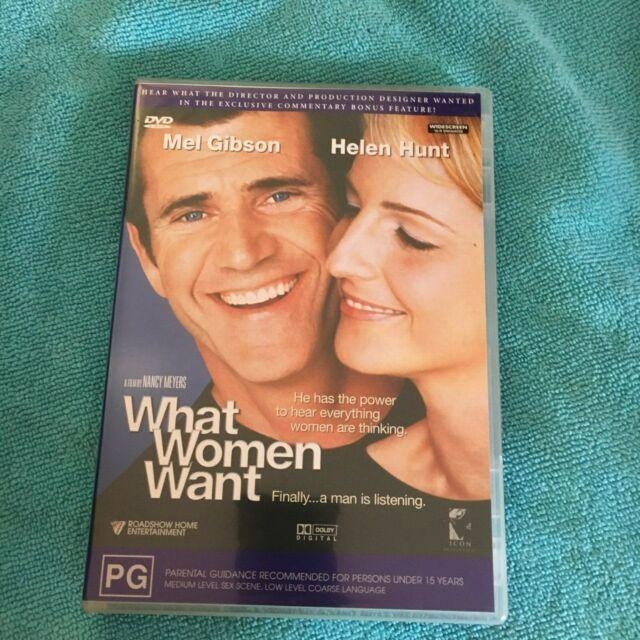 WHAT WOMEN WANT DVD.