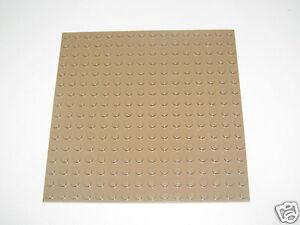 Lego 4plaque de Base Gris 32x32 tenons Plate Platten Choose Grey