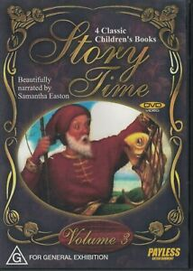 Story-Time-4-Classic-Children-039-s-Books-Vol-3-narrated-by-Samantha-Easton-DVD