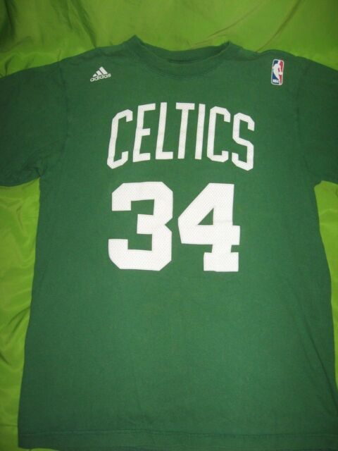 Paul Pierce NBA Boston Celtics Basketball 34 T Shirt Adidas Size Medium d37f31b02