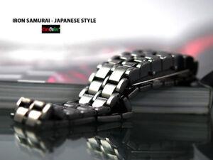 Elegante Orologio da Polso Iron Lava Samurai Led Extra Luminosi Unisex Watch