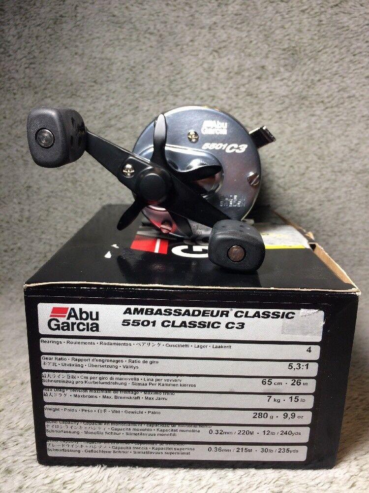 Abu Garcia Ambassadeur Classic 5501 Classic C3 Reel De Pesca
