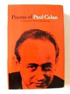 Details About Poems Of Paul Celan Translated Michael Hamburger Persea Books 1989
