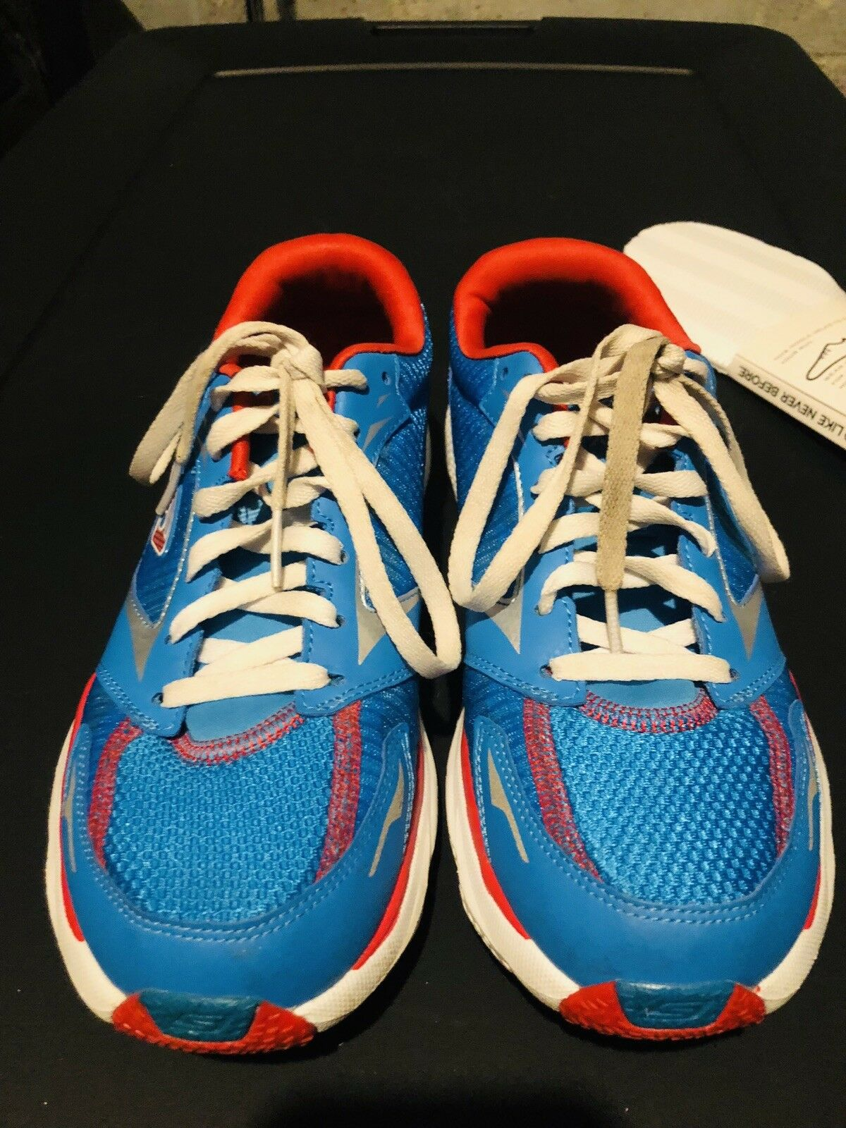 RARE HOUSTON MARATHON EDITION SKECHERS GO RUN RIDE 3 RUNNING SHOE XTRA INSERT
