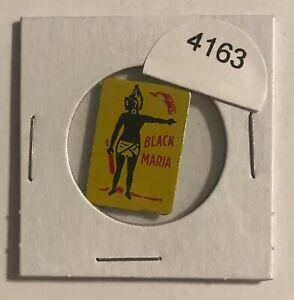 VINTAGE-TIN-LITHOGRAPHED-TOBACCO-TAG-BLACK-MARIA-BLACK-AMERICANA-4163
