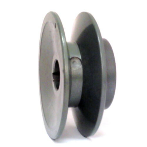 "2/"" Cast Iron 1//2/"" Shaft Pulley Sheave Single 1 Groove V Style A Belt AK20-1//2/"""