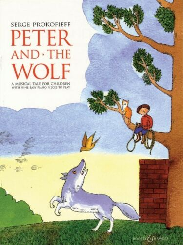 Peter and the Wolf Sheet Music Easy Piano NEW 050484102
