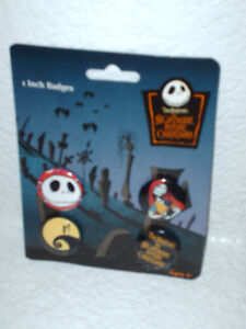 New-Disney-Nightmare-before-Christmas-pins-badges-4-pc