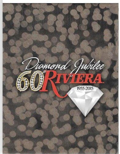 Riviera Las Vegas Hotel Casino Player Club card Presentation folio Diamond 60th