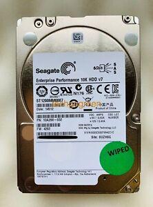 "ST1200MM0007 Seagate 1.2TB 10K 6Gbp//s SAS 2.5/"" Enterprise HDD"