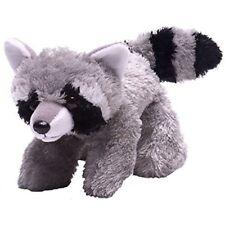 Hug'ems Raccoon 7 Inch Plush - Wild Republic Hugems Toy 18cm Grey Soft