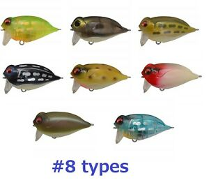 MEGABASS-NOISY-CAT-FLIPPER-TOP-WATER-Floating-lure-Catfish-fishing-8-types