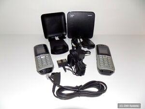 Gigaset SL400 Basis und 2x Gigaset S67H Mobilteile aus Büroauflösung BITTE LESEN