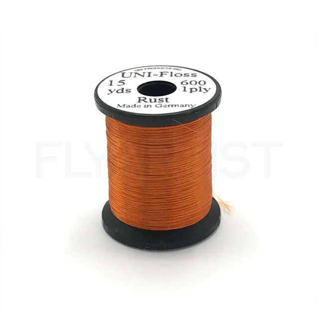 Fly Tying Uni-Flexx 1680 Denier Gray 15 yd